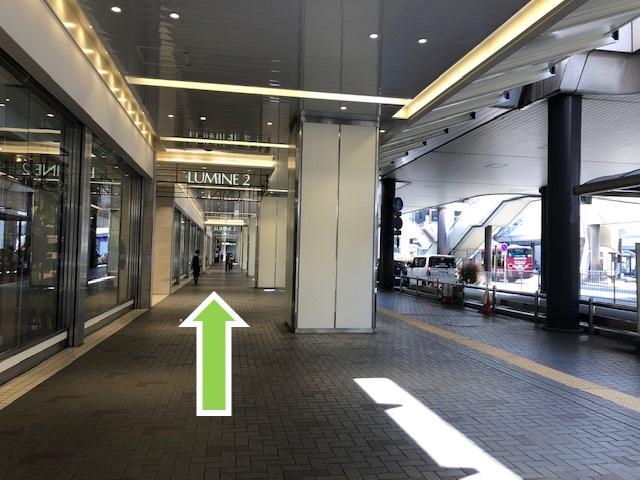 大宮駅駅構内通路